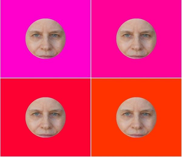 Farbberatung online – digital - Rotnuancen kalt und warm