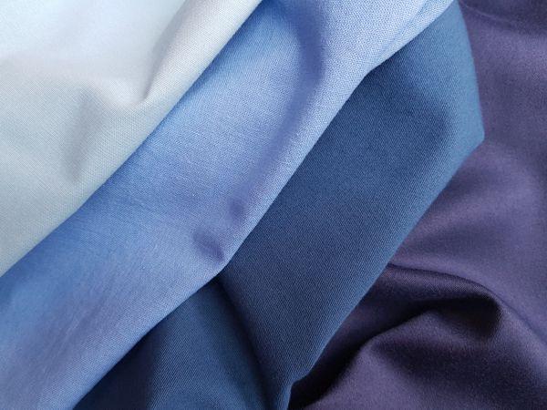 Farbberatungstücher Blau
