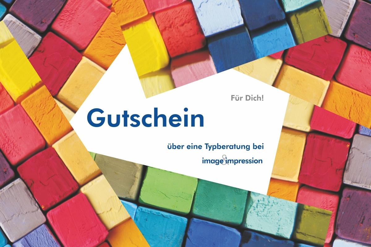 Gutschein Typberatung - Muster Ines Meyrose e.K. - image&impression