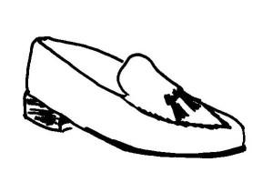 Tassel Loafer - oder auf deutsch: Bommelschuh